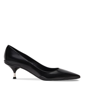 Prada Heel Pumps Black Athletic