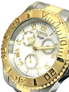 Invicta nvicta Women's Watch Angel Quartz Two Tone S. Steel MOP Dial 17526