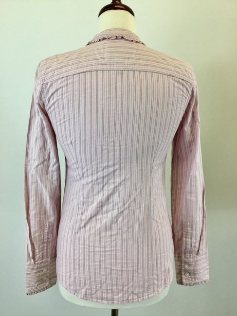 American Eagle Outfitters Button Down Shirt Pink Image 2