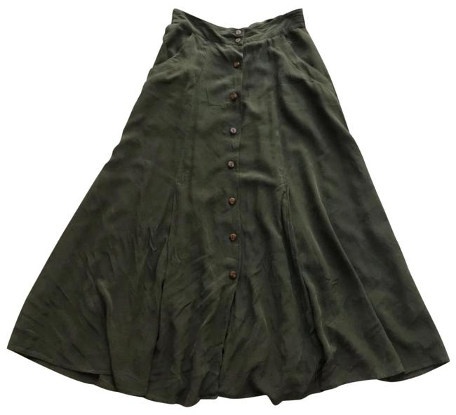 Preload https://img-static.tradesy.com/item/25270736/olive-button-front-skirt-size-4-s-27-0-1-650-650.jpg