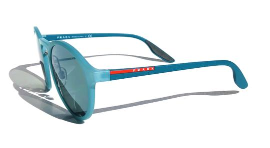 Prada New Rounded Mirrored Lens SPS 01S VHF3C0 Free 3 Day Shipping Image 8