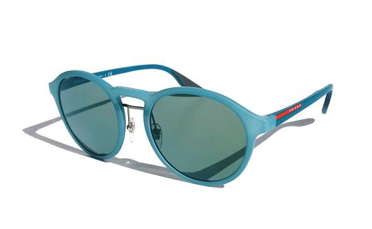 Prada New Rounded Mirrored Lens SPS 01S VHF3C0 Free 3 Day Shipping Image 9