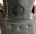 Frye Western Cowboy Distressed Gold Hardware Brown Tan Boots Image 5
