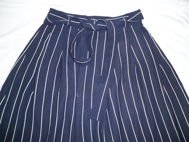 Banana Republic Striped Nautical High Waist Full Skirt Image 3