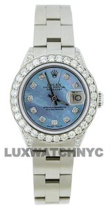 Rolex 1.9ct Ladies 26mm Datejust Stainless with Box & Appraisal