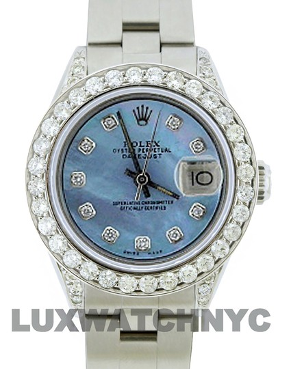 Rolex 1.9ct Ladies 26mm Datejust Stainless with Box & Appraisal Image 1