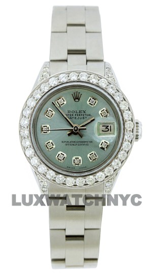 Preload https://img-static.tradesy.com/item/25270979/rolex-iced-blue-19ct-26mm-datejust-stainless-steel-with-box-and-appraisal-watch-0-1-540-540.jpg