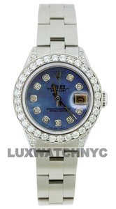 Rolex 1.9CT LADIES 26MM DATEJUST STAINLESS STEEL WITH BOX & APPRAISAL