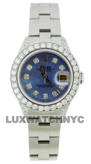 Preload https://img-static.tradesy.com/item/25271003/rolex-blue-mop-dial-19ct-ladies-26mm-datejust-stainless-steel-with-box-and-appraisal-watch-0-0-540-540.jpg