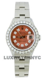 Rolex 1.9CT 26MM LADIES DATEJUST STAINLESS STEEL WITH BOX & APPRAISAL