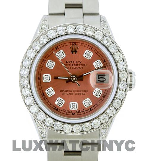 Rolex 1.9CT 26MM LADIES DATEJUST STAINLESS STEEL WITH BOX & APPRAISAL Image 1