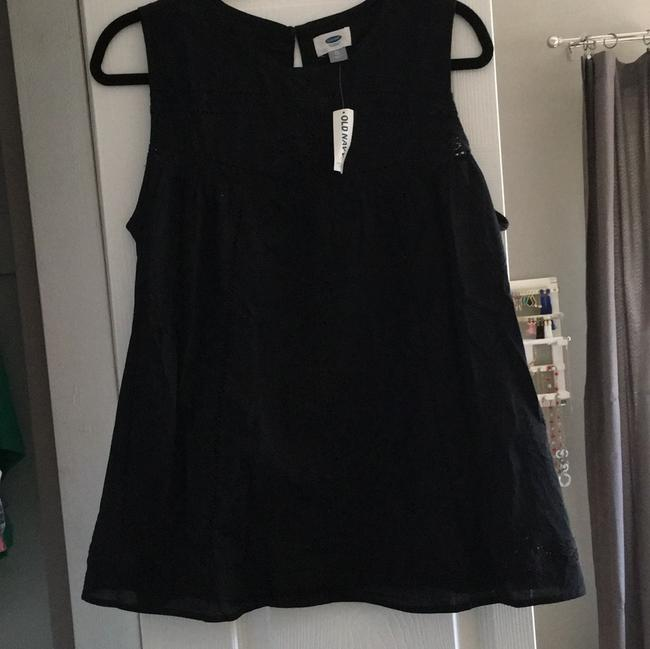 Old Navy Embroidered Top Black Image 1