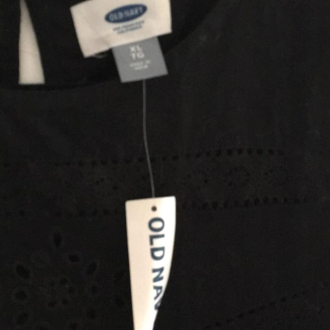 Old Navy Embroidered Top Black Image 2
