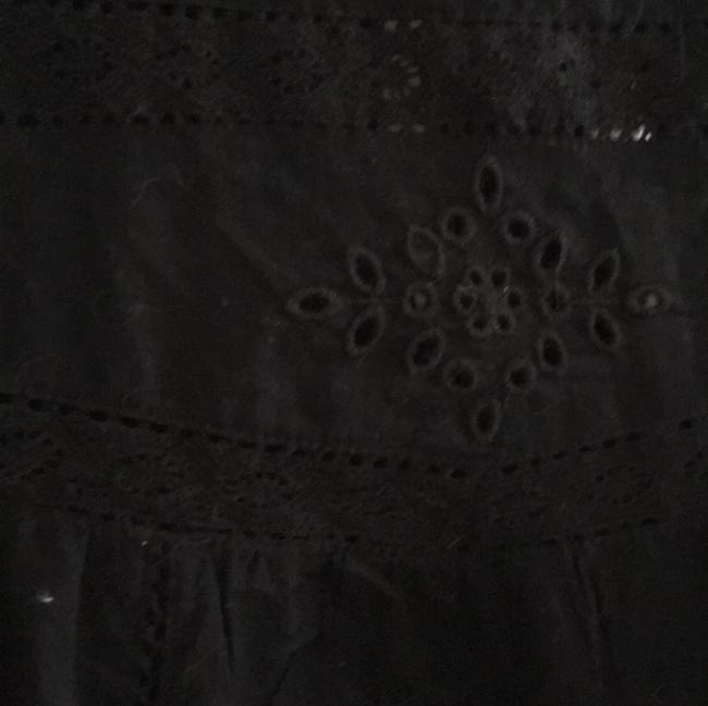 Old Navy Embroidered Top Black Image 4