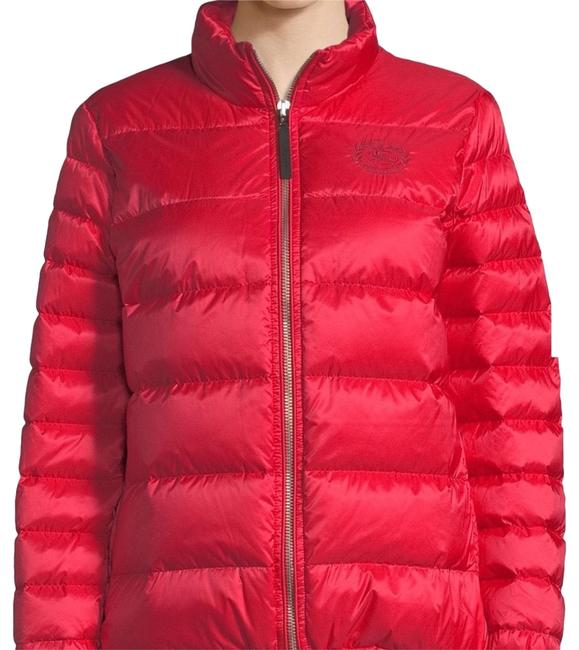 Item - Bright Orange Red Smethwick Quilted Puffer Jacket Size 4 (S)