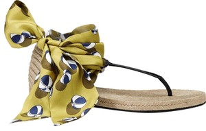 Gucci Carolina Beach Ball Satin Multi-Color Flats