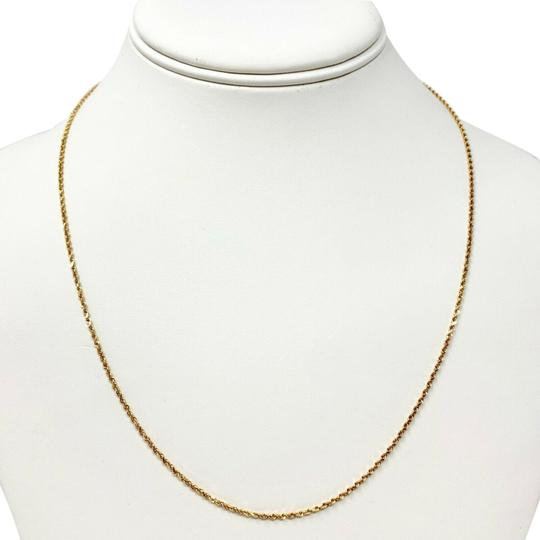 Preload https://img-static.tradesy.com/item/25271123/14k-solid-gold-thin-15mm-diamond-cut-aurafin-rope-chain-20-necklace-0-1-540-540.jpg
