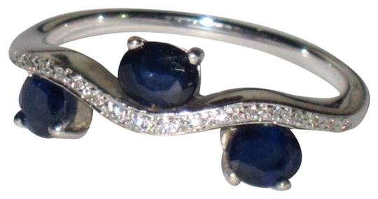 Other 14k White Gold Sapphire Ring Image 0