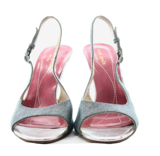 Kate Spade Metallic Sandals Image 1
