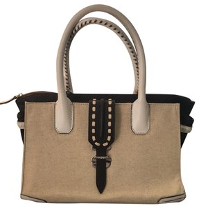 TOUS Tote in natural/brown/white