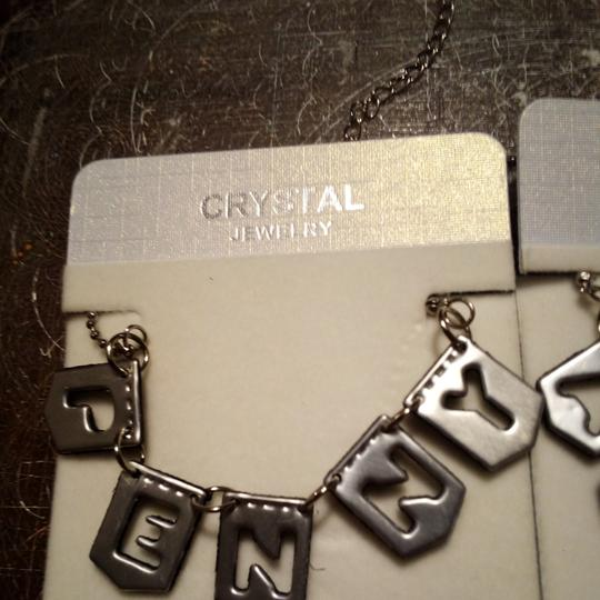 Angels Crossing Customized Name Necklace Image 1