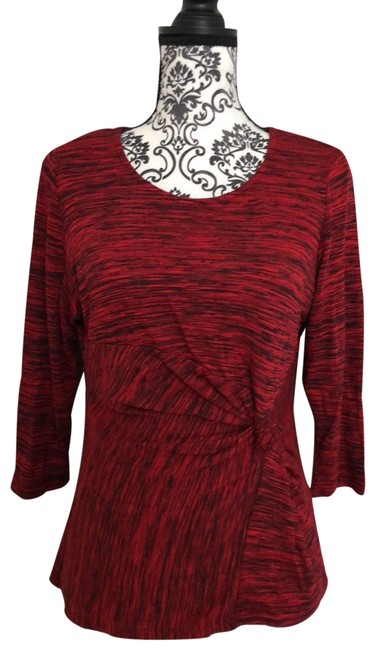 Preload https://img-static.tradesy.com/item/25271263/ny-collection-multi-red-34-pxl-knit-blouse-size-petite-14-l-0-1-650-650.jpg