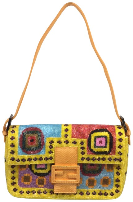 Item - Beaded Yellow Baguette