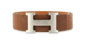 Hermès 32mm Constance Vache Naturalle Leather