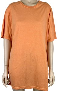 546621c971f Mossimo Supply Co. Cotton Round Neck Sleeve T Shirt Orange