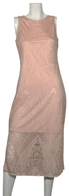 Preload https://img-static.tradesy.com/item/25271961/carmen-marc-valvo-pink-blush-sheer-insert-women-s-new-short-casual-dress-size-4-s-0-1-650-650.jpg