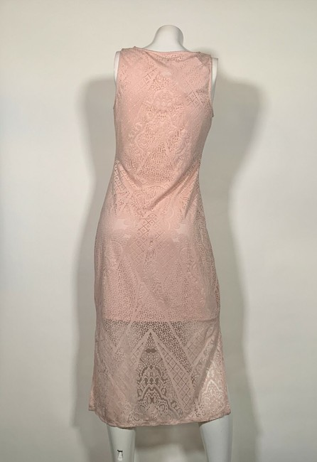 Carmen Marc Valvo short dress Pink Rayon on Tradesy Image 1