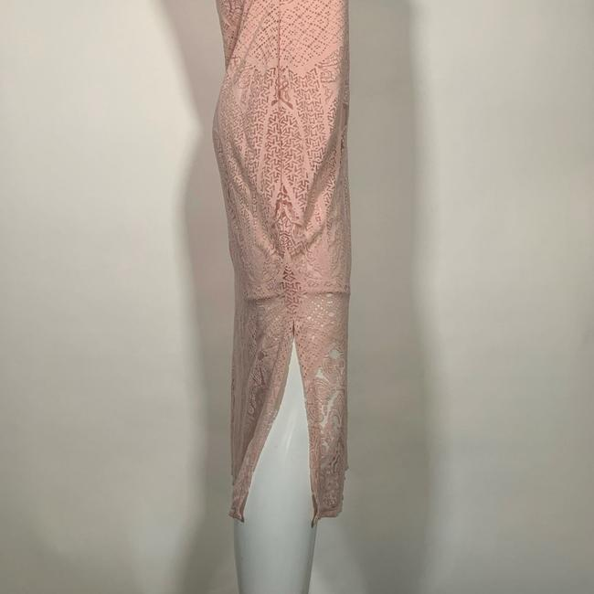 Carmen Marc Valvo short dress Pink Rayon on Tradesy Image 2