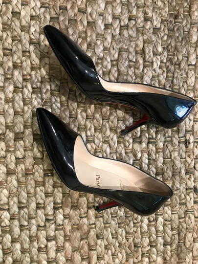 Christian Louboutin Black on red soles Pumps Image 2