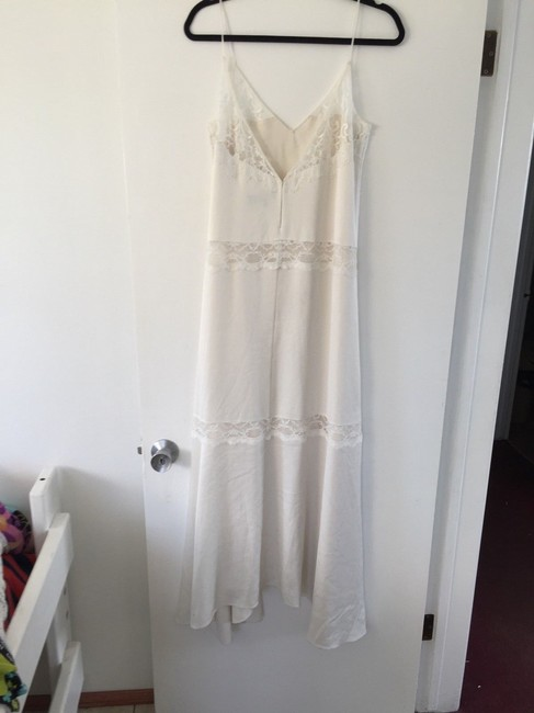 off white Maxi Dress by Theory Lace Maxi Summer Image 1