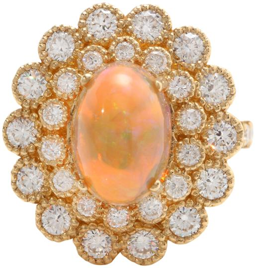 Preload https://img-static.tradesy.com/item/25272182/yellow-305-ctw-natural-ethiopian-opal-and-diamonds-in-14k-solid-gold-ring-0-1-540-540.jpg