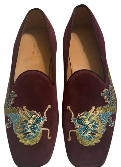 Preload https://img-static.tradesy.com/item/25272209/gucci-maroon-men-s-loafers-flats-size-us-11-extra-wide-ww-ee-0-1-540-540.jpg