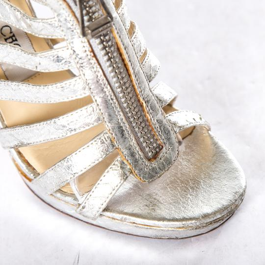Jimmy Choo Silver Sandals Image 4