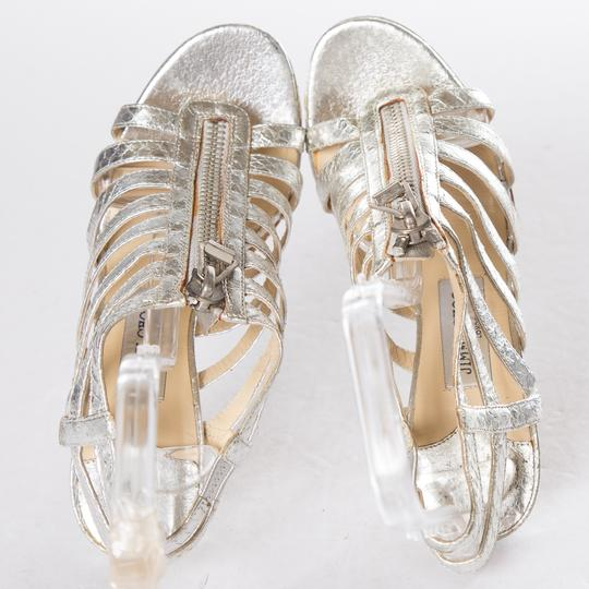 Jimmy Choo Silver Sandals Image 6