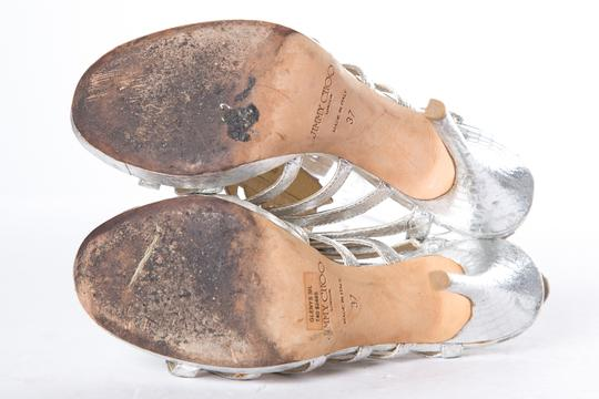Jimmy Choo Silver Sandals Image 8