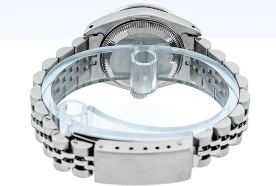 Rolex Ladies Datejust Ss/White Gold with MOP Diamond Dial Watch Image 1
