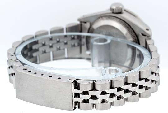 Rolex Ladies Datejust Ss/White Gold with MOP Diamond Dial Watch Image 3