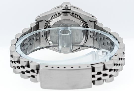 Rolex Ladies Datejust Ss/White Gold with MOP Diamond Dial Watch Image 4