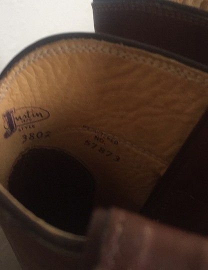 Justin Brown Boots Image 7