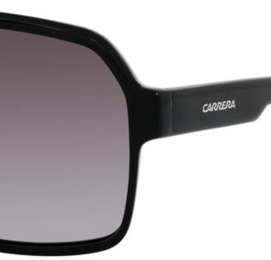 Carrera New CARRERA Sunglasses 33/S 0807PT 62-11 140 Black Aviator w/Grey Fade Image 1