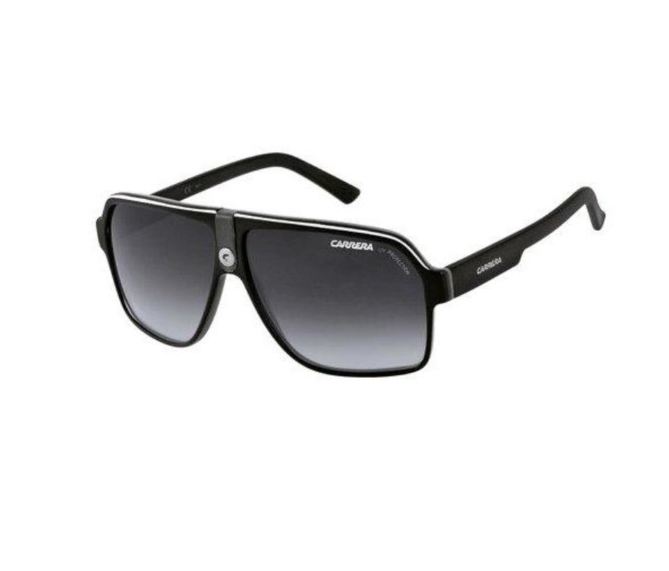 6c17d0927a23 Carrera CARRERA Sunglasses 33/S 08V69O 62-11 140 Black Crystal Grey Aviator  Image ...