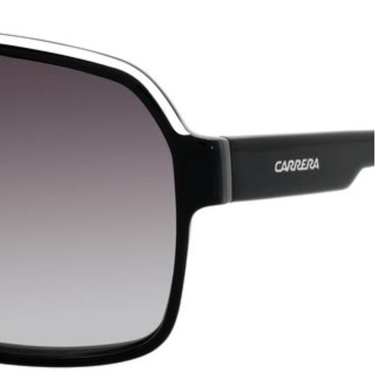 Carrera CARRERA Sunglasses 33/S 08V69O 62-11 140 Black Crystal Grey Aviator Image 1
