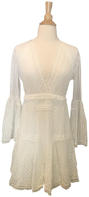 IRO short dress White Lace Gwen Bell Sleeve Pullover Style on Tradesy Image 0