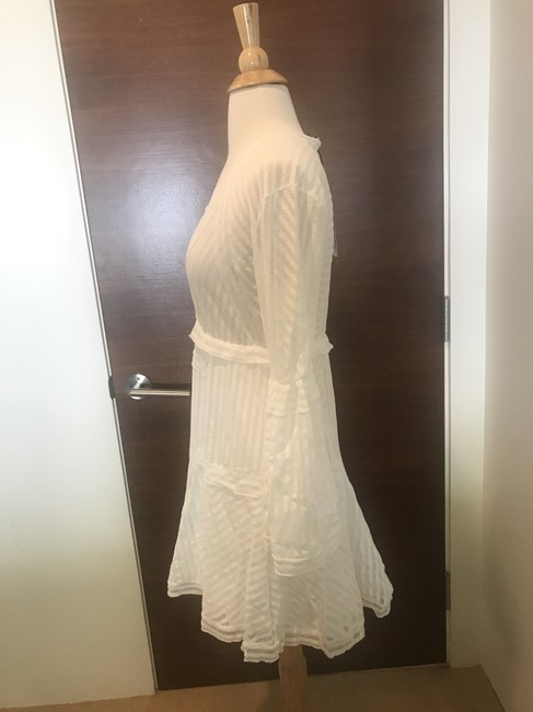 IRO short dress White Lace Gwen Bell Sleeve Pullover Style on Tradesy Image 1