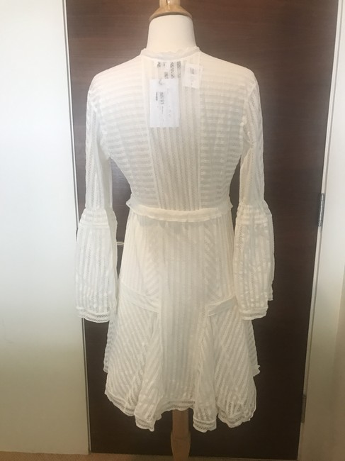 IRO short dress White Lace Gwen Bell Sleeve Pullover Style on Tradesy Image 2