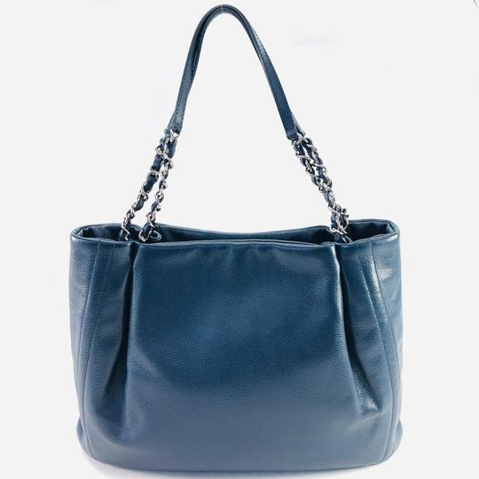 Chanel Paris Timeless Cc Tote in Slate Blue Image 1